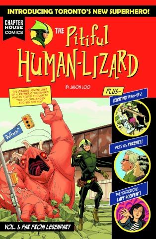 The Pitiful Human-Lizard Vol. 1