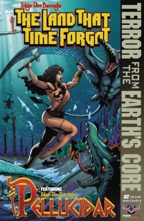 The Land That Time Forgot: From Earth's Core #2 (Connecting Cover B)