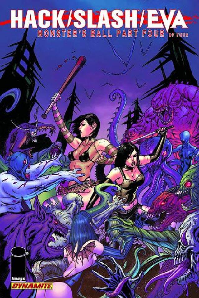 Hack/Slash/Eva: Monsters' Ball #4