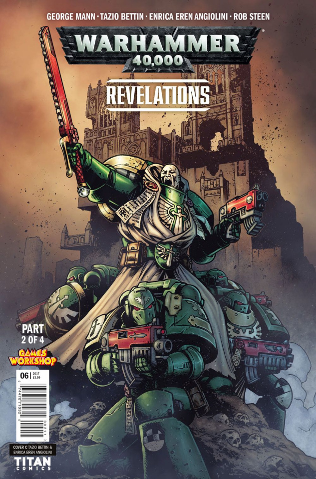 Warhammer 40,000: Revelations #2 (Bettin Cover)