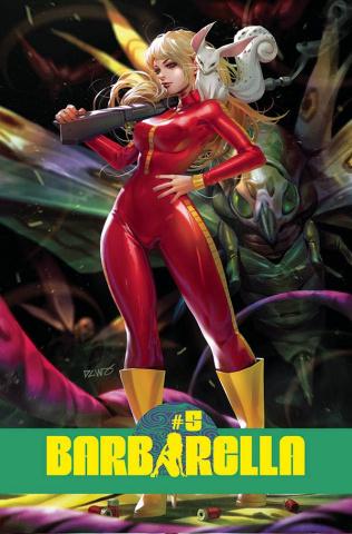 Barbarella #5 (Chew Cover)