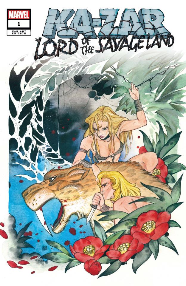 Ka-Zar: Lord of the Savage Land #1 (Momoko Cover)
