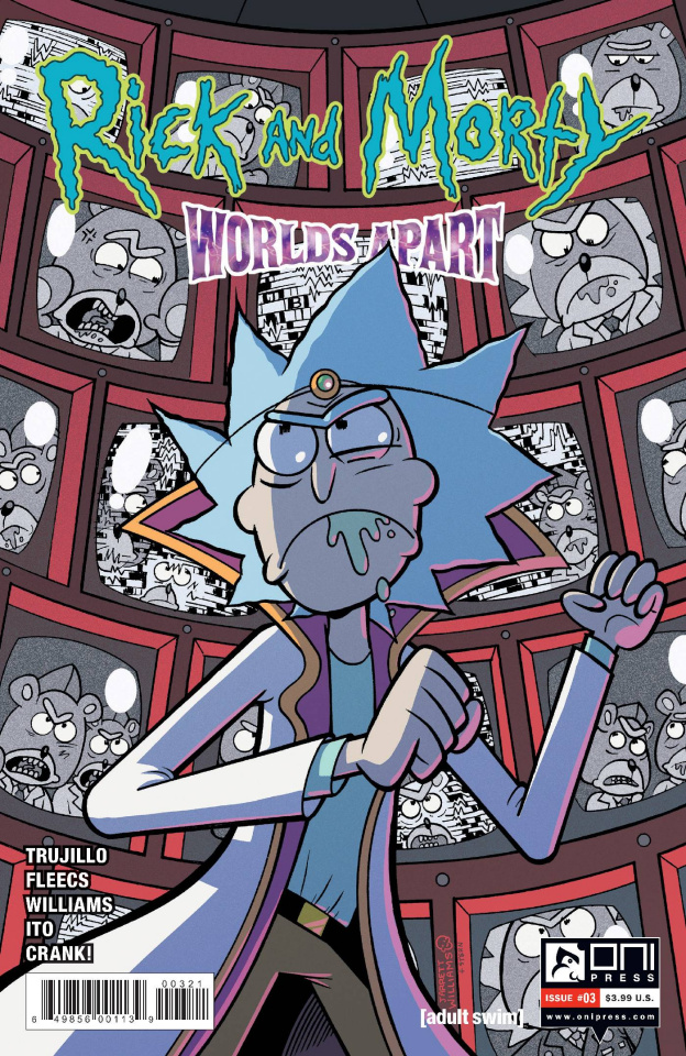 Rick and Morty: Worlds Apart #3 (Williams Cover)