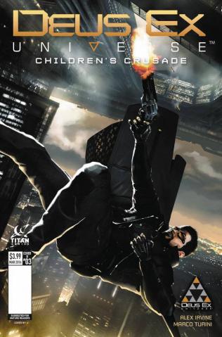 Deus Ex #3 (Concept Art Cover)