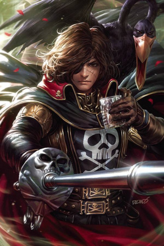 Space Pirate: Captain Harlock #1 (20 Copy Derrick Chew Virgin Cover)