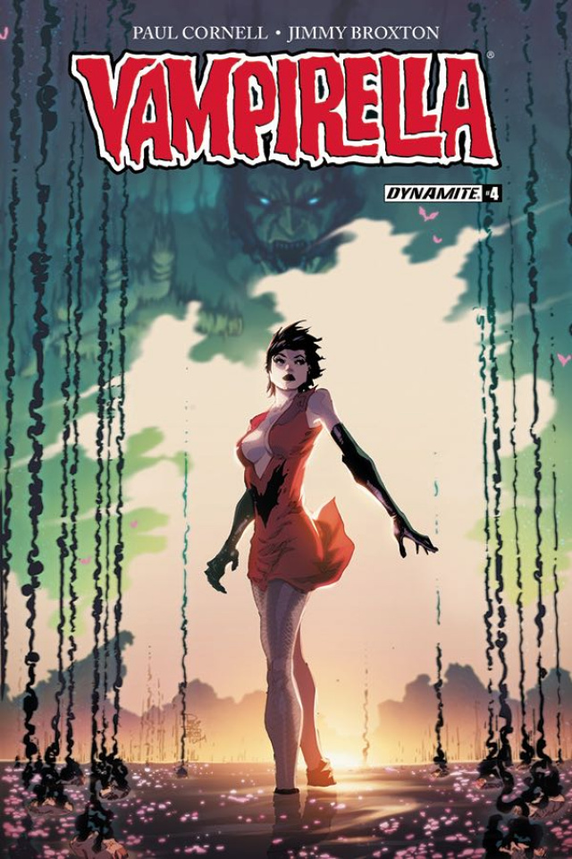 Vampirella #4 (Tan Cover)