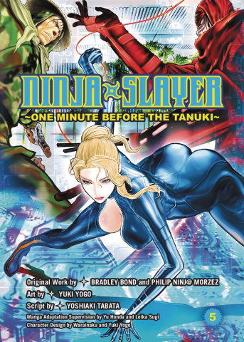 Ninja Slayer Vol. 6: 3 Dirty Ninjas