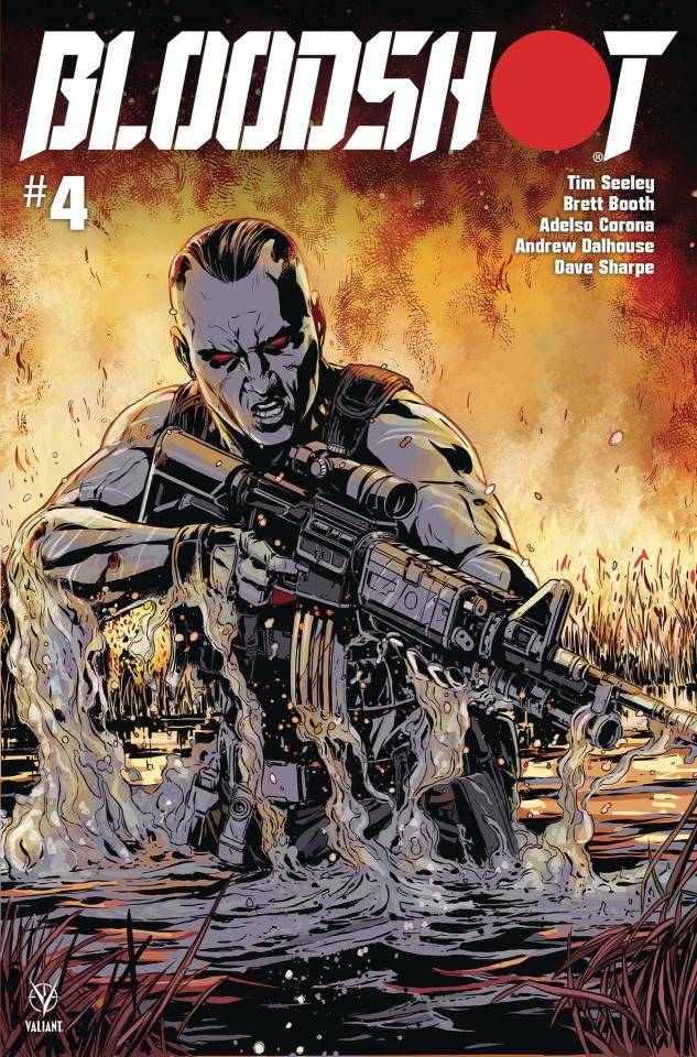 Bloodshot #4 (Laming Cover)