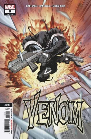 Venom #8 (Coello 2nd Printing)