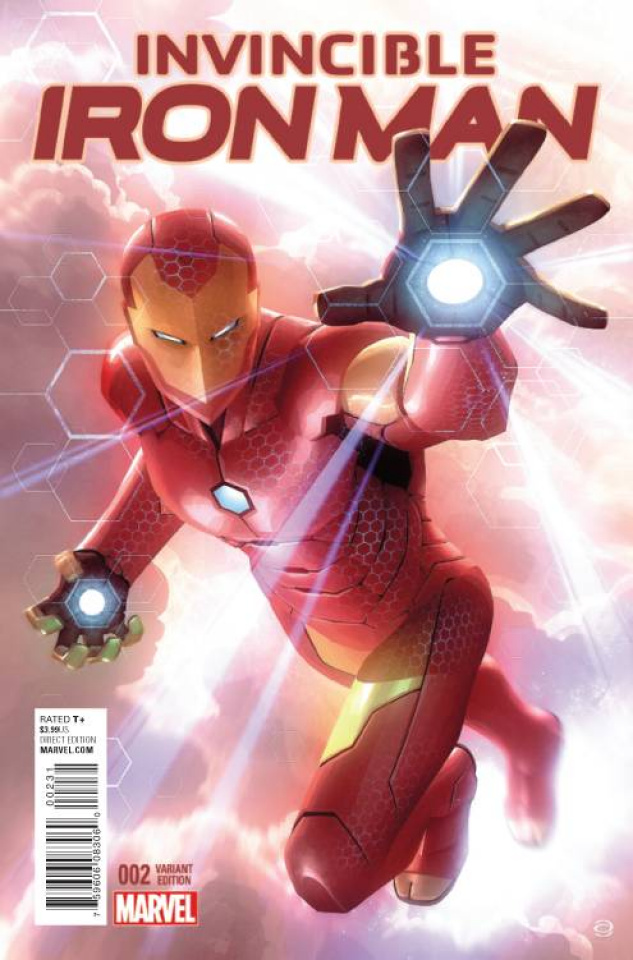 Invincible Iron Man #2 (Garner Cover)