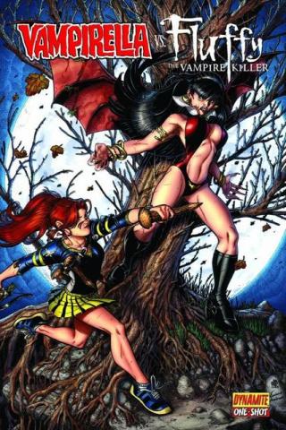 Vampirella vs. Fluffy