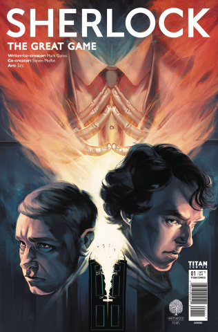 Sherlock: The Great Game #1 (Glass Cover)