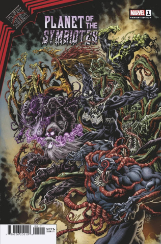 King in Black: Planet of the Symbiotes #1 (Hotz Cover)