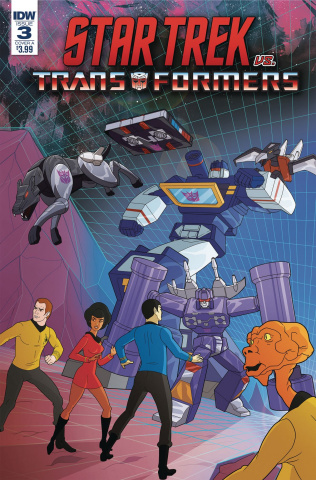 Star Trek vs. The Transformers #3 (Murphy Cover)
