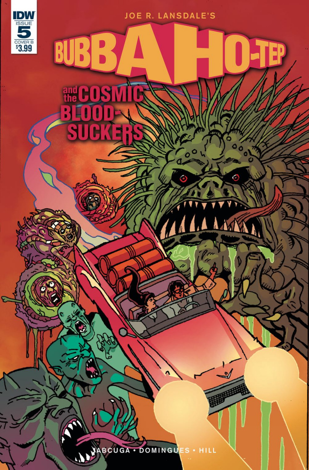 Bubba Ho-Tep and the Cosmic Blood-Suckers #5 (Galusha Cover)