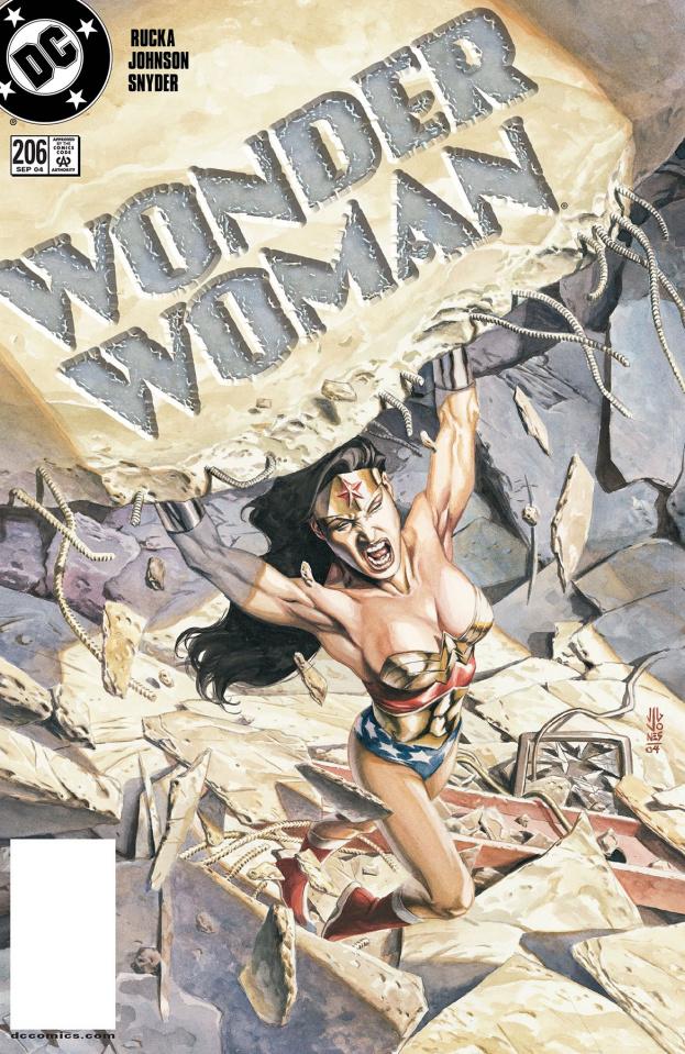 Wonder Woman #206 (Dollar Comics)