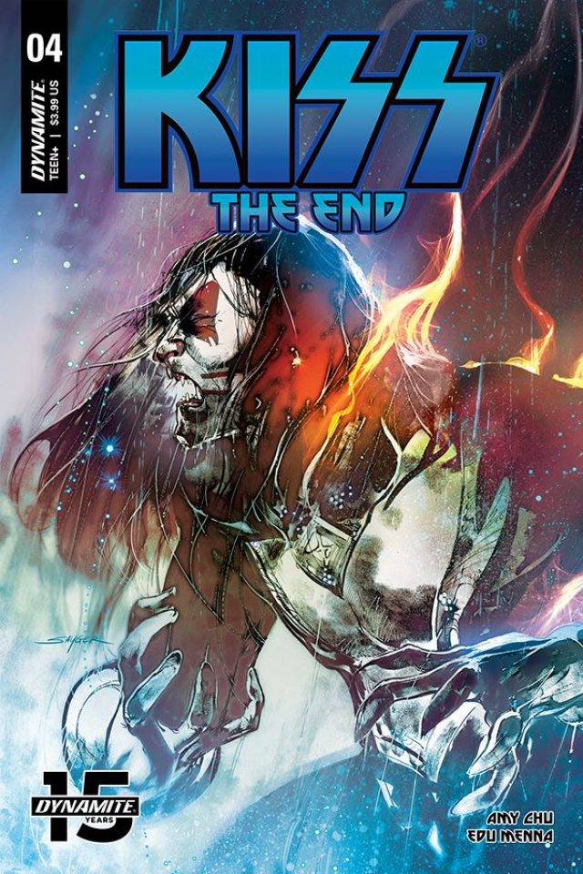 KISS: The End #4 (Sayger Cover)