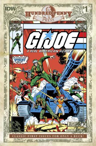 G.I. Joe: A Real American Hero - 1982 #1 (100 Penny Press)