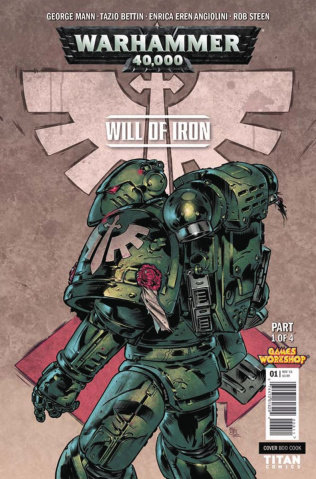 Warhammer 40,000: Will of Iron #1 (Cook Cover)