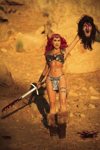 Red Sonja #25 (30 Copy Cosplay Virgin Cover)
