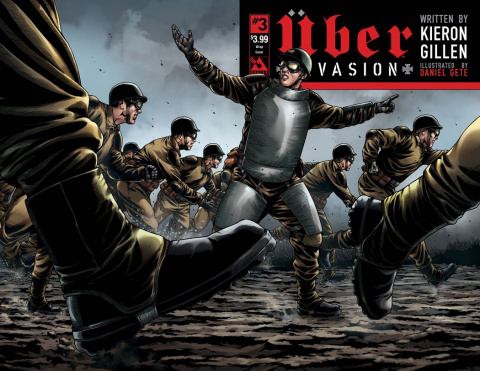 Über: Invasion #3 (Wrap Cover)