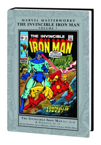 Invincible Iron Man Vol. 7 (Marvel Masterworks)