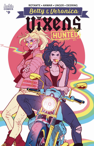 Betty & Veronica: Vixens #9 (Ganucheau Cover)