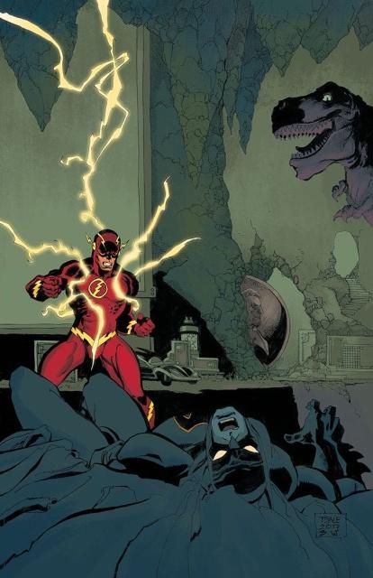 Batman #21 (Variant Cover: The Button)