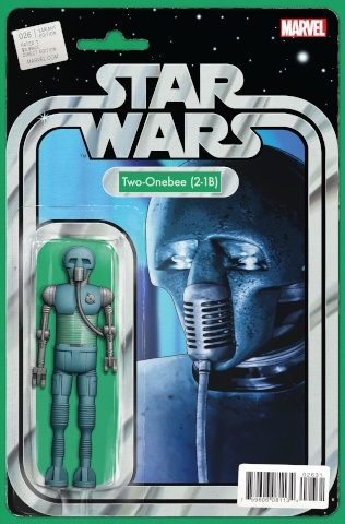 Star Wars #26 (Christopher Action Figure Cover)