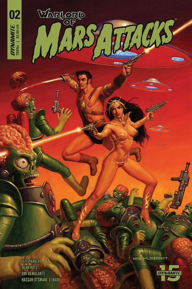 Warlord of Mars Attacks #2 (Hildebrandt Cover)