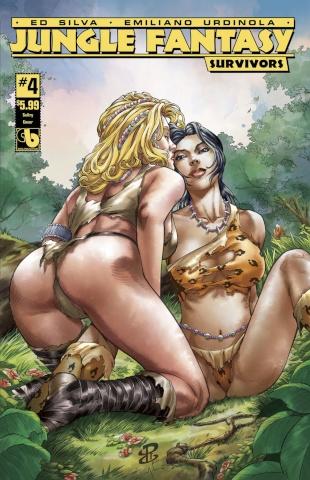 Jungle Fantasy: Survivors #4 (Sultry Cover)