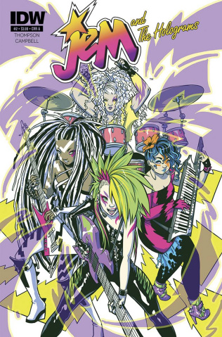 Jem and The Holograms #1 (2nd Printing)
