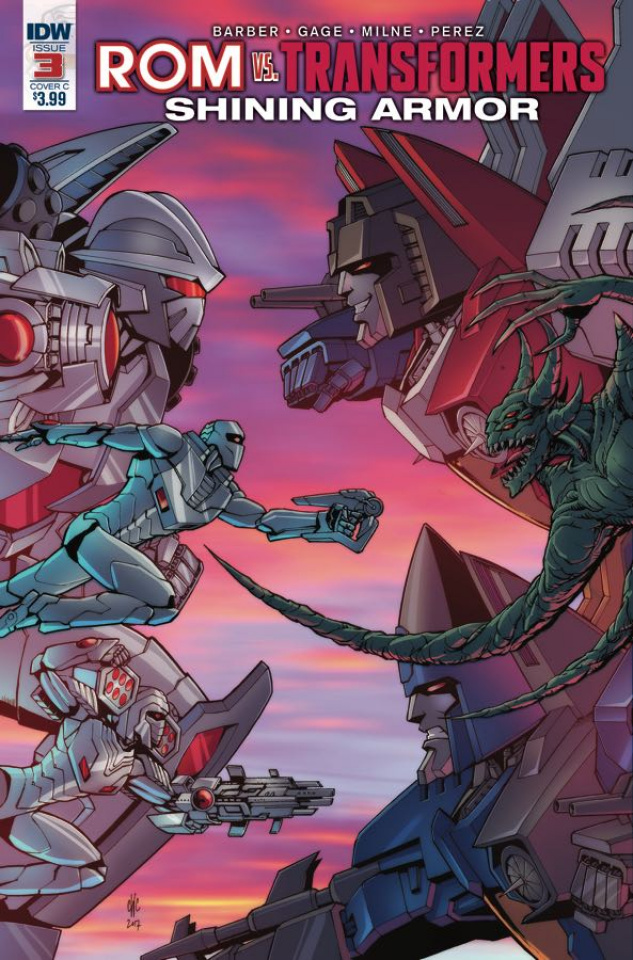 ROM vs. The Transformers: Shining Armor #3 (Coller Cover)