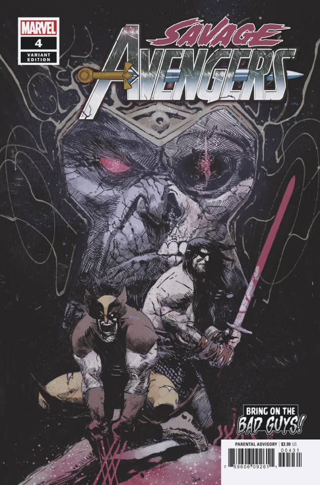 Savage Avengers #4 (Zaffino BobG Cover)