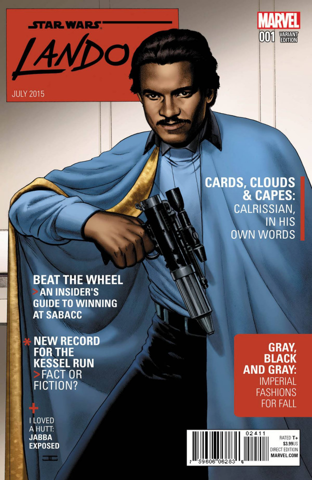 Star Wars: Lando #1 (Cassaday Cover)