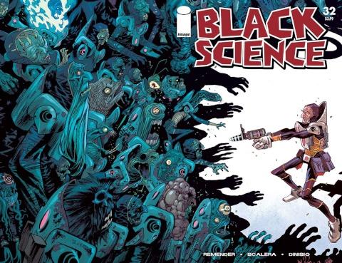 Black Science #32 (Walking Dead #5 Tribute Cover)