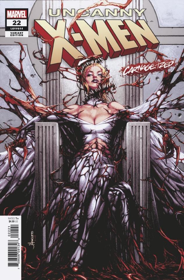 Uncanny X-Men #22 (Anacleto Carnage-ized Cover)