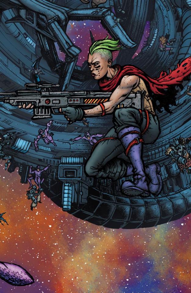 4001 AD: War Mother #1 (20 Copy Mega Cover)
