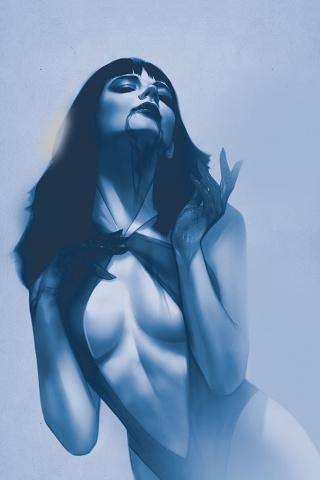 Vengeance of Vampirella #4 (7 Copy Oliver Virgin Tint Cover)