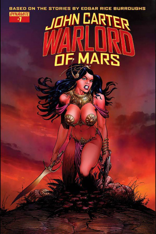 John Carter: Warlord of Mars #7 (Sears Cover)