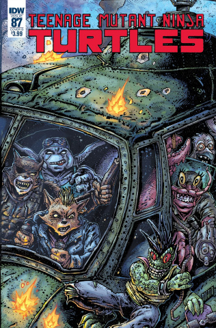 Teenage Mutant Ninja Turtles #87 (Eastman Cover)