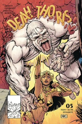 Dejah Thoris #5 (Gorham Homage Cover)