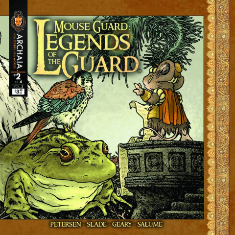 Mouse Guard: Legends of the Guard #2