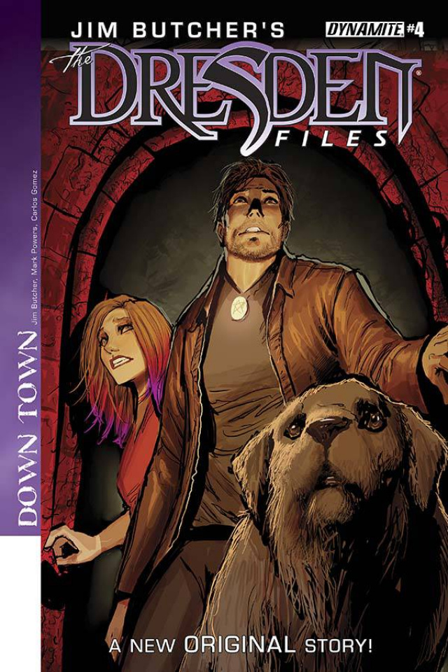 The Dresden Files: Down Town #4