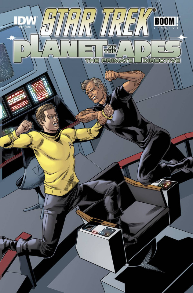 Star Trek / Planet of the Apes #3