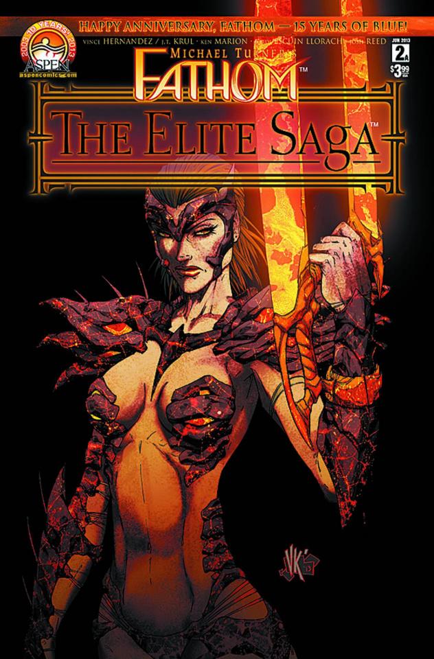 Fathom: The Elite Saga #2 (Marion Cover)
