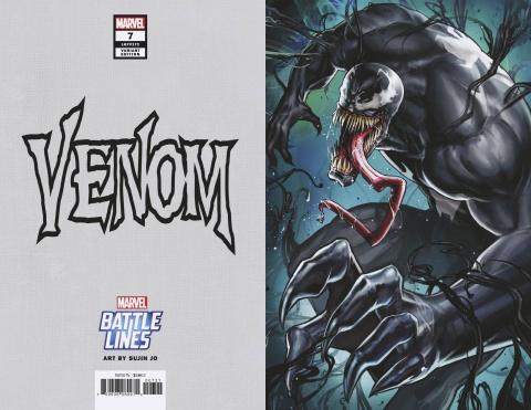 Venom #7 (Yoon Lee Marvel Battle Lines Cover)