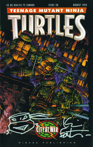Teenage Mutant Ninja Turtles #50 (Treasury Edition)