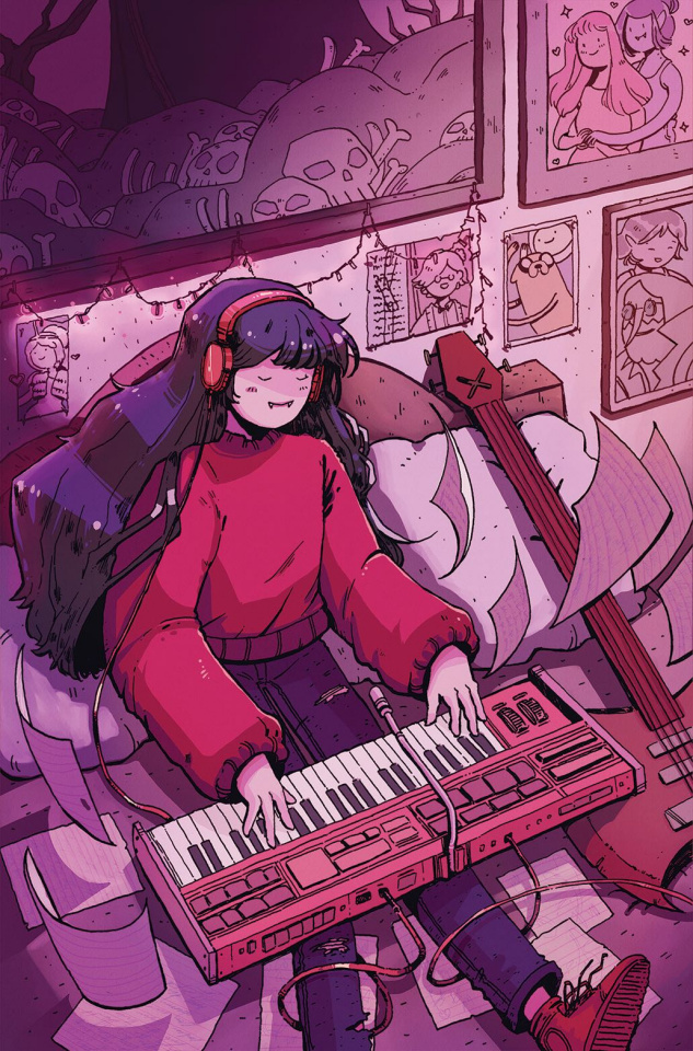 Adventure Time: Marcy & Simon #5 (Preorder Marcy Cover)