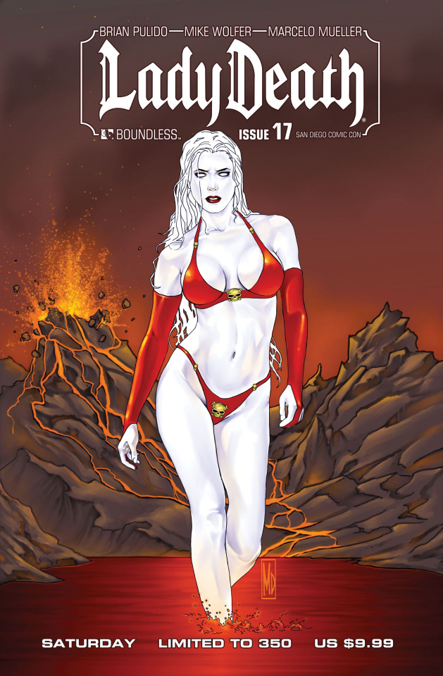 Lady Death #17 (SDCC Saturday Cover)